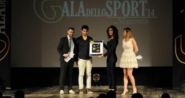 Danny Sargoni premiato al Galà dello sport maceratese