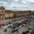Le Fiat 500 in Piazza del Popolo