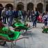 Un momento dell'iniziativa in Piazza del Popolo