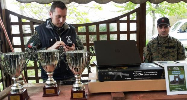 Gara di Soft Air: il tavolo delle premiazioni