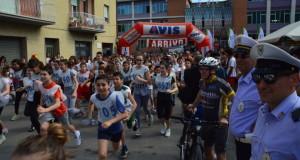 Il via alla corsa (foto d'archivio)
