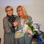 La presidente provinciale Anna Maria Foresi con la dirigente Vanna Bianconi