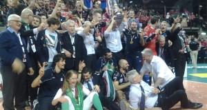 Il trionfo della Lube a Perugia