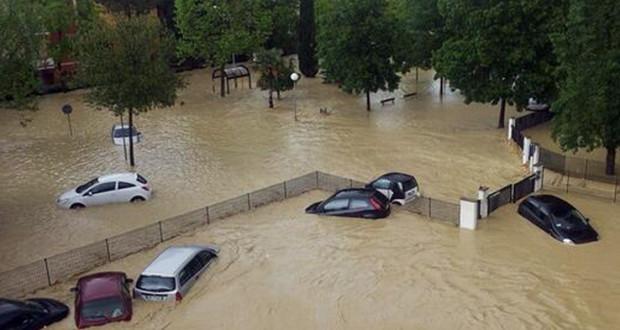 L'alluvione a Senigallia