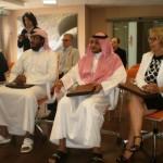Gli ospiti del Qatar al BluGallery