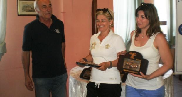 Pietro Caglini con Monica Guerrini e Angela Belloni