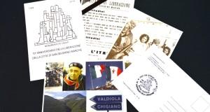Cartoline e annullo per il 70° di Liberazione