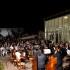 Un momento del concerto dello scorso 6 luglio a Palazzo Claudi