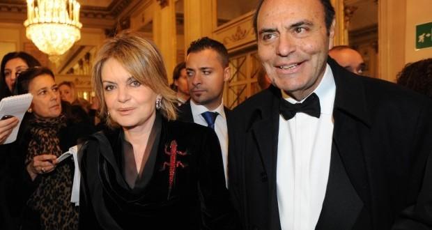 Il magistrato Augusta Iannini assieme al marito Bruno Vespa