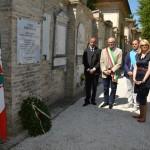 Il parlamentare maceratese Irene Manzi alla commemorazione