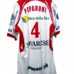 La maglia di Alessandro Paparoni messa all'asta