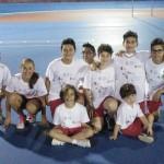 I giovani pattinatori della Rotellistica di San Severino
