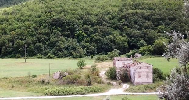 Il luogo del ritrovamento del corpo di Sarchiè