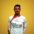 """Matteo Monteneri con la nuova maglia della Settempeda firmata dallo sponsor """"Castellino"""""""
