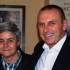 Sandro Teloni assieme alla Tardella