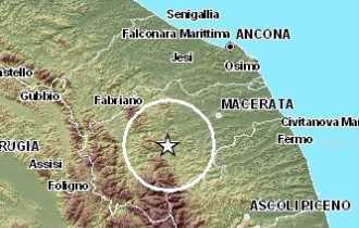 La zona del sisma