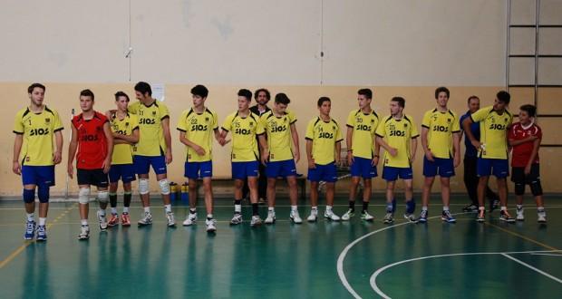 La squadra maschile di serie D