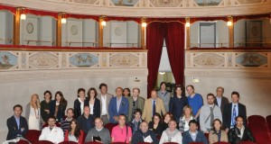 I corsisti al teatro Feronia