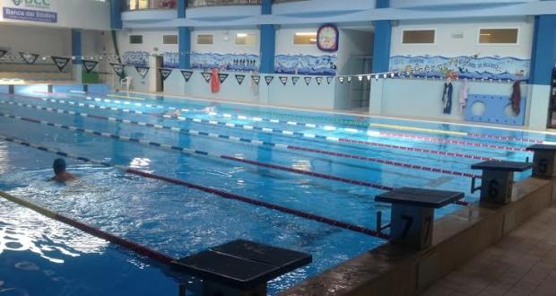 La piscina BluGallery a Taccoli