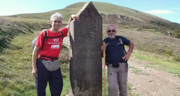 Egidio Pacella e Dino Marinelli sui Pirenei