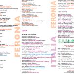 Le date della stagione teatrale 2014-2015