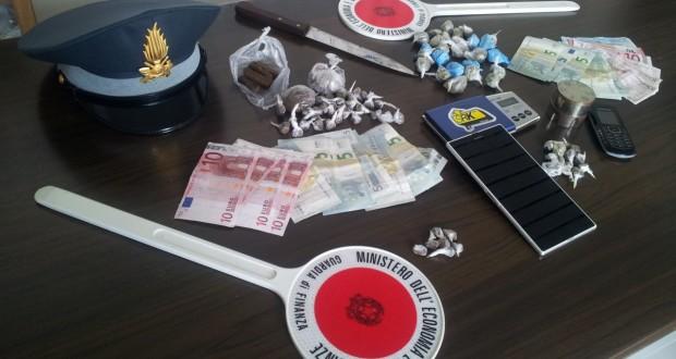 Il sequestro della Guardia di Finanza
