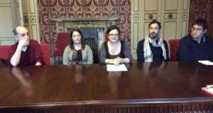 La conferenza stampa in Comune, a Macerata, con la partecipazione dell'assessore settempedano Vitturini