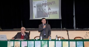 Il presidente Adriano Vissani e il rettore Giammario Borri