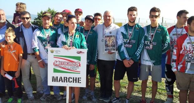 Le Marche al Trofeo delle Regioni (foto di Aldo Esposti)