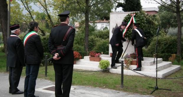 Cerimonia al monumento dei caduti di Nassiriya (foto d'archivio)