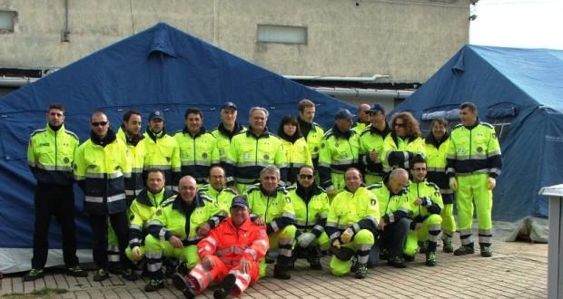 Volontari del gruppo comunale di Protezione civile