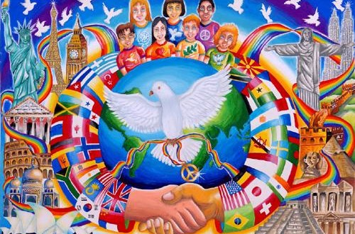 """""""Un poster per la pace"""": mostra alle scuole medie"""