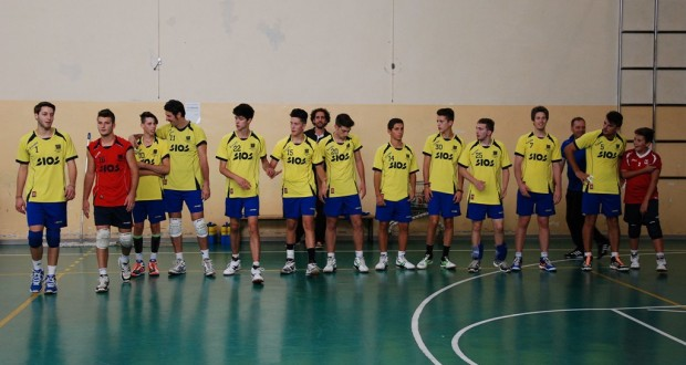 La squadra del San Severino Volley
