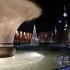 Piazza del Popolo già illuminata a festa