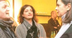 La Boldrini in una recente visita privata a San Severino, assieme al sindaco Cesare Martini e all'assessore alla Cultura, Simona Gregori