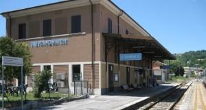 La stazione ferroviaria di San Severino