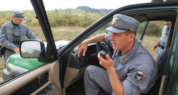 Agenti del Corpo Forestale (immagine d'archivio)