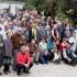 Il gruppo dei partecipanti alla grande festa dei Menichelli