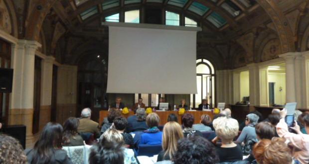Un momento dell'incontro a Bologna