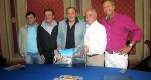 Castori con Pettinari, Torresi, Martini e Pelagalli