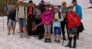 Il gruppo protagonista della gita al lago di Pilato