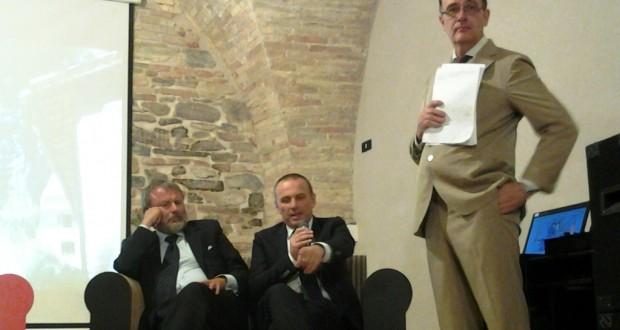 Da sinistra: Andrea Pamparana, Santro Teloni e Achille Perego