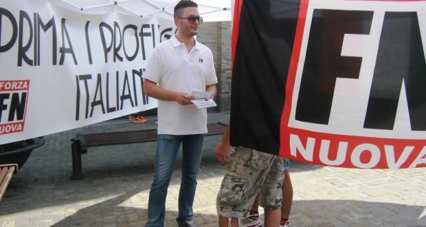 Valter Bianchi in piazza
