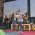 Fabrizio Castori sul palco di Francavilla premiato dal sindaco Martini