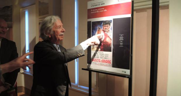Luciano Gregoretti alla mostra