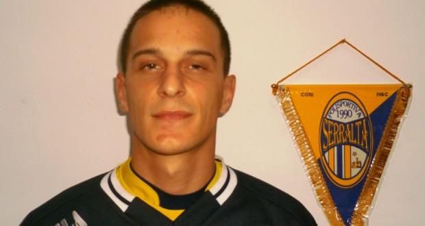 Raponi, autore del gol del Serralta