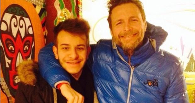 Danny Bronzini con Jovanotti