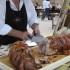 Sagra della porchetta (immagine d'archivio)