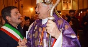 Il Cardinal Menichelli con il sindaco Martini