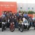 """Il gruppo davanti al """"Poltrona Frau Museum"""""""